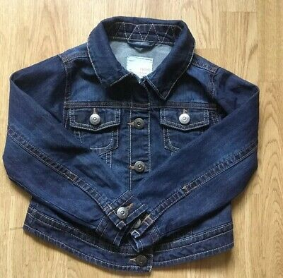 NEXT Girl's Denim Jacket Age 5-6 Years - Excellent Condition!!