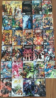 Justice League America DC Comics x 29 ( 2007-2011) Overall Condition Nearmint