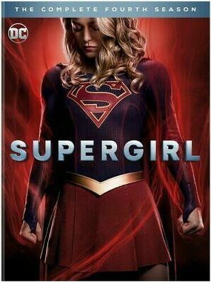 Brand New Supergirl Complete Season 4 4Th Four (Dvd) No Reserve Auction!