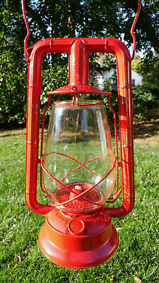 Vintage Beautifully Restored Red Dietz  Monarch Lantern
