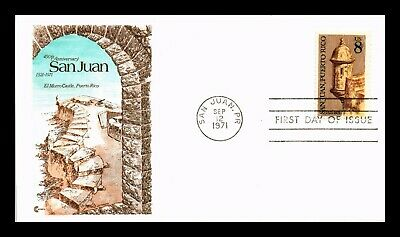 Dr Jim Stamps Us San Juan El Morro Castle Puerto Rico First Day Cover Craft