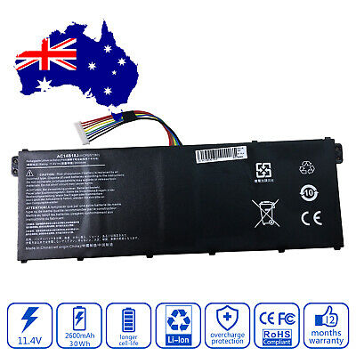Battery for Acer Chromebook 13 CB5-311-T9Y2 Laptop 2600mAh