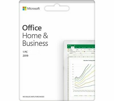 Microsoft Office 2019 Home & Business (for PC/Windows) - Genuine License Key