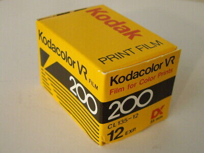 Vintage Kodacolor Vr 200  Cl135-12 Film Unopened