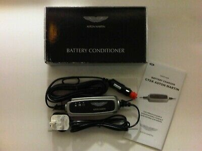 Aston Martin Db9 Battery Charger & Conditioner Brand New Genuine Product