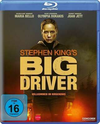 Stephen King's Big Driver [Blu-ray/NEU/OVP] Maria Bello, Ann Dowd, Will Harris,
