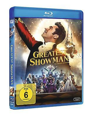 Greatest Showman [Blu-ray/NEU/OVP] Musical mit Hugh Jackman, Michelle Williams,