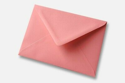 "C6 (114x162 4x6"") 98 Pink Envelopes for Crafts Greeting Cards Party Invitations"