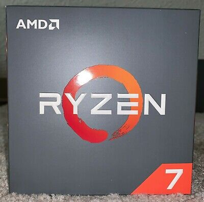 AMD CPU Ryzen 7 2700X 8 Cores 16 Threads 105 Watts AM4 40MB with PRISM LED (NEW)