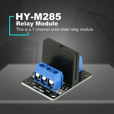 1 Way Solid State Relay Module Board DC 5V High Level Trigger SSR for Arduino Bb