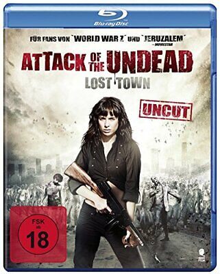 Attack of the Undead - Lost Town - Uncut [Blu-ray/FSK 18/NEU/OVP] Endzeitzombie