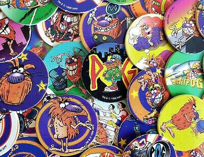 * Brand New POGMAN Pogs /& SLAMMERS 1994 WPF emballage scellé-Rétro gaming années 90