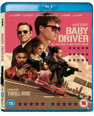 Baby Driver (Blu-ray) *New & Factory Sealed*