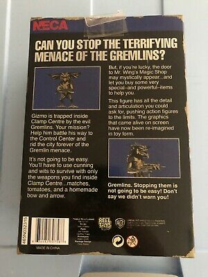 "Gremlins 2 Classic 1990 Video Game Appearance MOHAWK 7"" Scale Action Figure NECA"