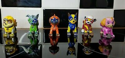 Paw Patrol Mighty Pups - Light Up Figures - Collection of 6