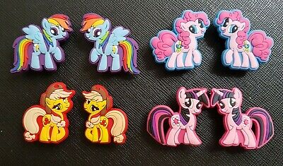 8 x My Little Pony Shoe Charms Made For Croc shoes Crocs Jibbitz Charm