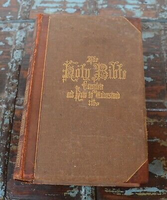 Hitchcock's New and Complete Analysis of the Holy Bible 1871 Johnson's Maps