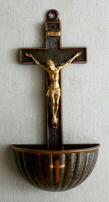 "Bronze Color Holy Water Font 5"" x 2"""