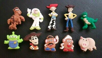10 x Toy Story Shoe Charms Made For Croc shoes Crocs Jibbitz Charm Woody Buzz 4
