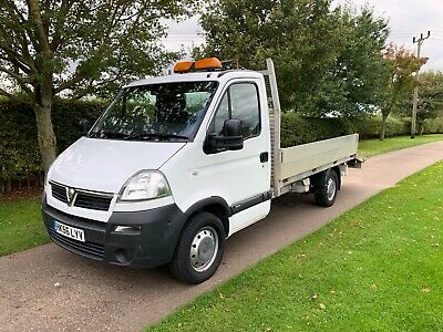 2007 Vauxhall Movano 2.5 CDTi 3500 Dropside / Transporter LOW MILES EX-COUNCIL