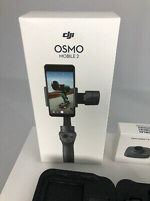 DJI Osmo Mobile 2 Gimbal System Stabilizer + Osmo Mobile 2 Base +  OSMO SHIELD