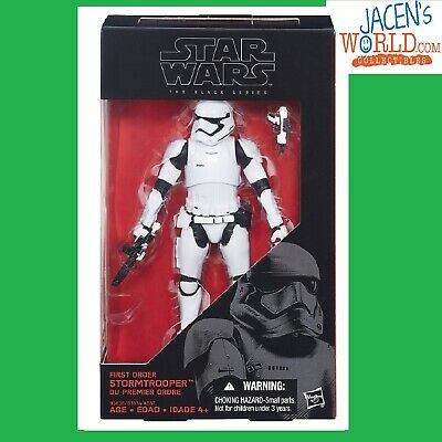 First Order Stormtrooper #04 Hasbro Star Wars The Black Series 6-Inch
