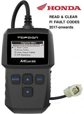 HONDA MOTORCYCLE PCX 125 2018-Onwards 4 PIN DIAGNOSTIC TOOL, OBD  FI SCANNER