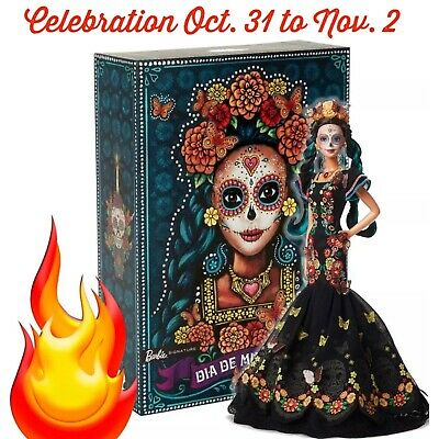 Barbie Day of The Dead Dia De Los Muertos Limited Edition *DOLL IN HAND*