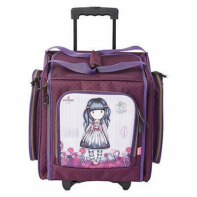 DoCrafts - Santoro Sugar and Spice - Pink Wheelable Craft Tote - GOR 934105