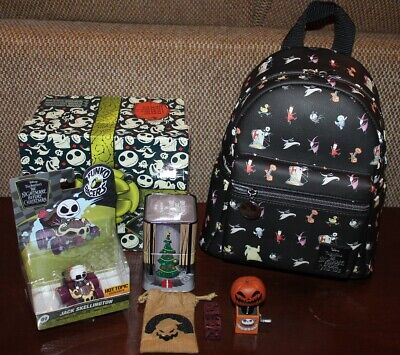 Funko! NIGHTMARE BEFORE CHRISTMAS MINI BACKPACK & 3 EXCLUSIVE TOYS! NEW