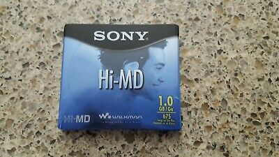 # 725: New sealed Sony 1 GB Hi-MD blank minidisc.