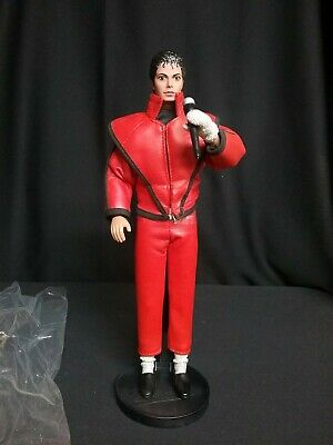 Michael Jackson Action Figure Doll Thriller 1984 Pre Owned