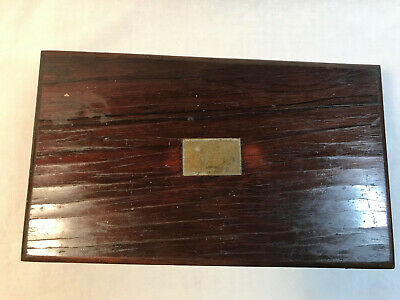 ** Antique Drafting / Architectural Instruments/Tools in Wooden Case II **