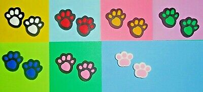 Paw Prints  Shoe Charms Shoe Buttons Plugs Accessories Shoe Decorations