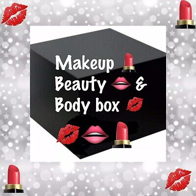 New Makeup Box with Beauty & Body Products. Everything 100% Authentic and Sealed