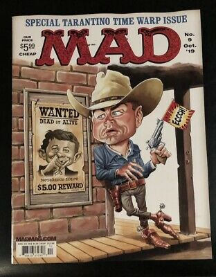 MAD MAGAZINE #9 (2018 Series) October 2019 NM (Last Issue Sold On Newsstands)