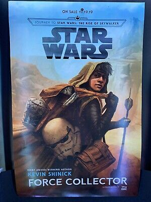 """NYCC 2019 STAR WARS FORCE COLLECTOR - 11""""x17"""" Original Promo Poster"""