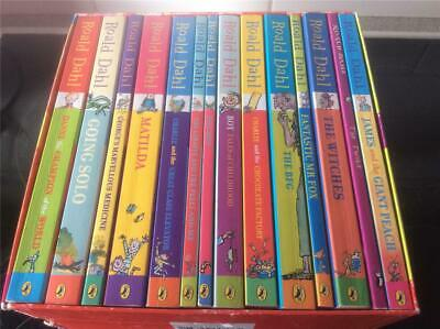 Roald Dahl Collection Phizz Whizzing 14  Classic Story Books Box Set Children