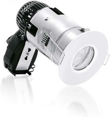 Click Scolmore LED4500WH8CD Integrated LED Downlight 4000K Cool White White Dimm
