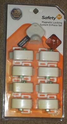 Safety 1St Magnetic Locking System 8 Locks And 1 Key, New In Unopened Package