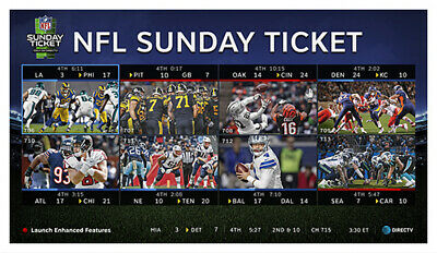 NFL Sunday Ticket MAX | Season 2019-2020 Warranty | Fast delivery via Email