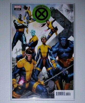 HOUSE OF X  #4 NM MOLINA CONNECTING VARIANT COVER MARVEL 2019 1st Print SOLD OUT