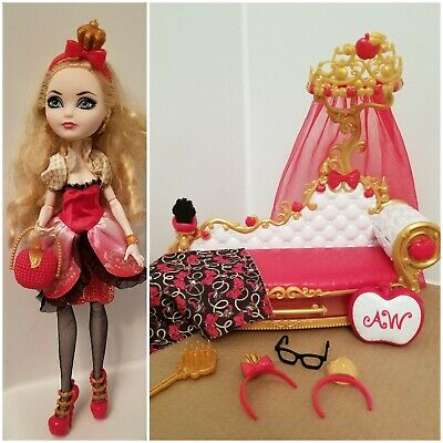Outstanding Ever After High Apple White Barbie Doll W Accessories Machost Co Dining Chair Design Ideas Machostcouk