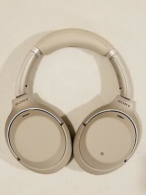 WH-1000XM3/B Sony Wireless Bluetooth Noise Canceling Stereo Headphones - Silver