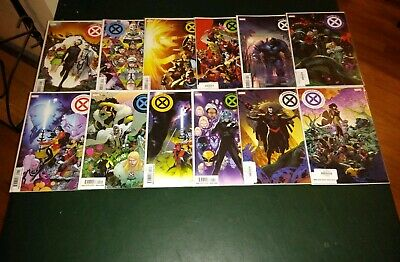 House Of X # 1-6/Powers Of X # 1-6 Nm+ First Prints! Unread! (13 Issue Lot)