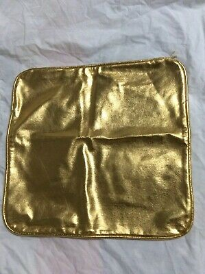 Rock Your Baby Cushion Cover Gold Metallic BNWT