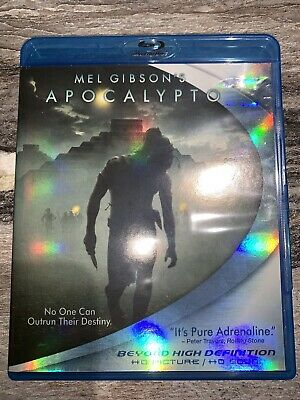 Apocalypto (Blu-ray Disc, 2007) Region A; Rare OOP Blu Ray: TESTED AND WORKING