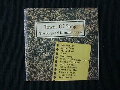 TOWER OF SONGS - THE SONGS OF LEONARD COHEN - CD - varous artists