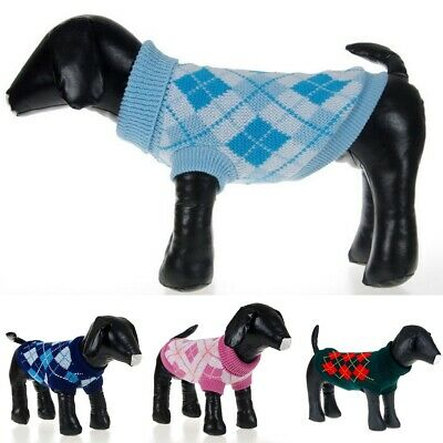 Pet Dog Cute Sweater Puppy Knit Clothes Coat Apparel For Small Medium Large Dogs