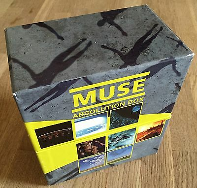 MUSE - Absolution Box *8xCD/DVD* LIMITED BOX RAR
